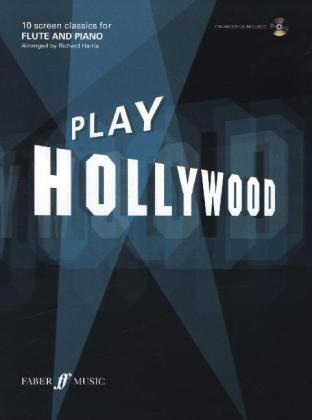Play Hollywood, flute and piano, w. Audio-CD | Dodax.pl