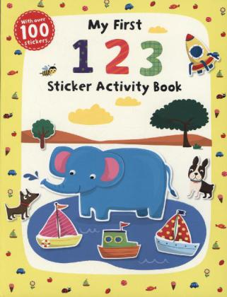 My First 1 2 3 Sticker Activity Book | Dodax.de