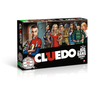 Winning Moves - Cluedo, The Big Bang Theory Edition (WIN10685) | Dodax.ch
