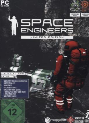 Space Engineers, Limited Edition, CD-ROM | Dodax.fr