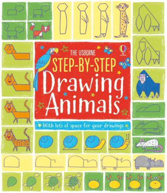 The Usborne Step-by-Step Drawing Animals | Dodax.de