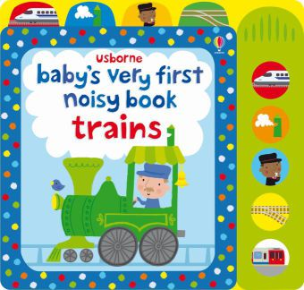 Baby's very first noisy book Trains, with sounds   Dodax.at