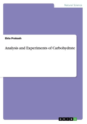 Analysis and Experiments of Carbohydrate | Dodax.pl