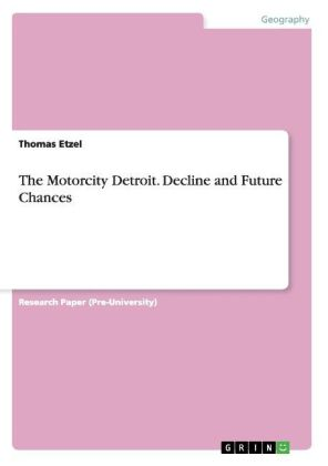 The Motorcity Detroit. Decline and Future Chances | Dodax.ch