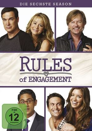 Rules of Engagement. Season.6, 2 DVDs | Dodax.co.uk