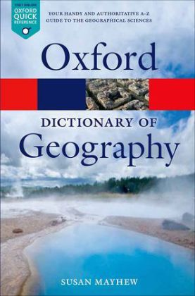 Oxford Dictionary of Geography | Dodax.pl