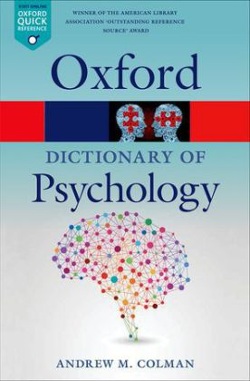 A Dictionary of Psychology | Dodax.pl