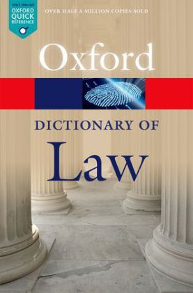 Oxford Dictionary of Law | Dodax.ch