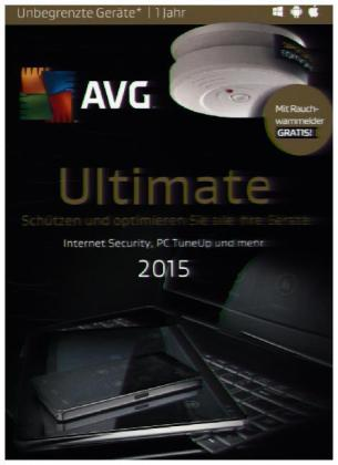 AVG Ultimate 2015 - Special Edition Rauchmelder, 1 DVD-ROM | Dodax.ch