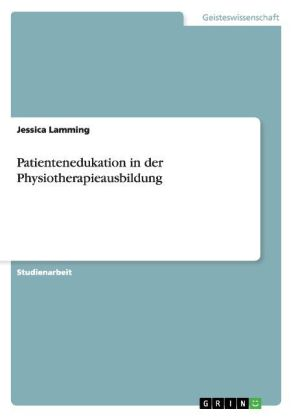 Patientenedukation in der Physiotherapieausbildung | Dodax.de