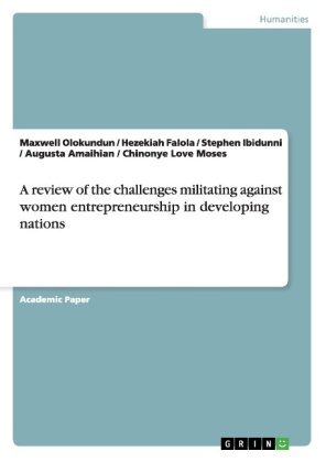 A review of the challenges militating against women entrepreneurship in developing nations   Dodax.co.uk