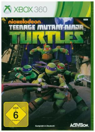 Nickelodeon Teenage Mutant Ninja Turtles, Xbox360-DVD | Dodax.co.uk