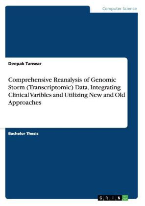 Comprehensive Reanalysis of Genomic Storm (Transcriptomic) Data, Integrating Clinical Varibles and Utilizing New and Old Approaches | Dodax.ch