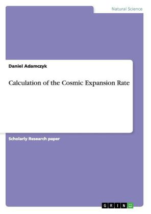 Calculation of the Cosmic Expansion Rate | Dodax.pl