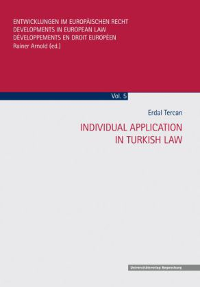 Individual Application In Turkish Law | Dodax.at