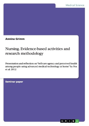 Nursing. Evidence-based activities and research methodology | Dodax.ch