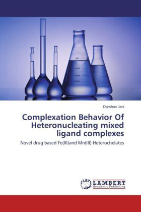 Complexation Behavior Of Heteronucleating mixed ligand complexes | Dodax.ch
