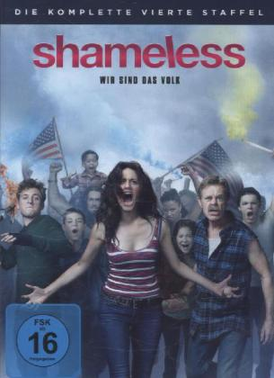 Shameless. Staffel.4, 4 DVDs | Dodax.fr