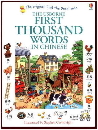 The Usborne First Thousand Words in Chinese | Dodax.at
