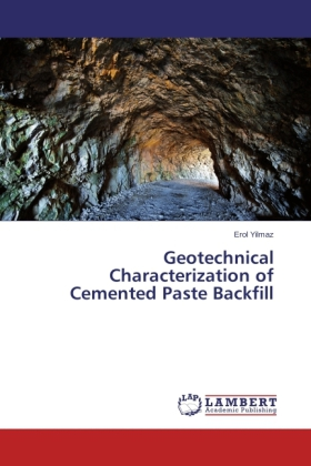 Geotechnical Characterization of Cemented Paste Backfill | Dodax.de