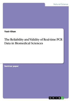 The Reliability and Validity of Real-time PCR Data in Biomedical Sciences | Dodax.co.uk