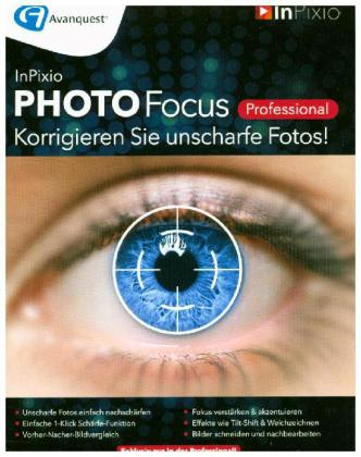 InPixio Photo Focus Professional, 1 DVD-ROM | Dodax.at