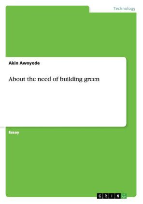 About the need of building green | Dodax.ch