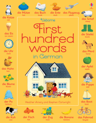 Usborne First hundred words in German | Dodax.at
