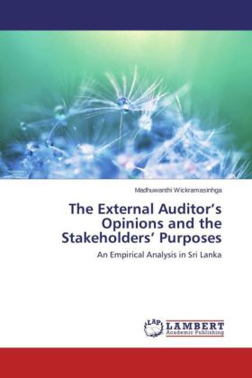 The External Auditor's Opinions and the Stakeholders Purposes | Dodax.ch