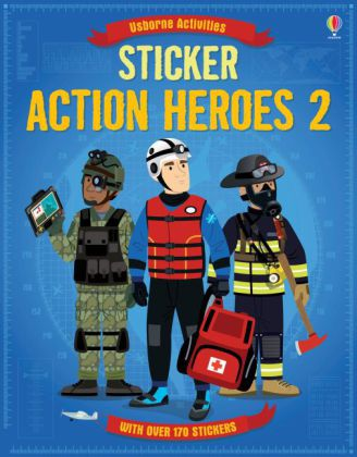 Sticker Dressing: Action Heroes. Vol.2   Dodax.at