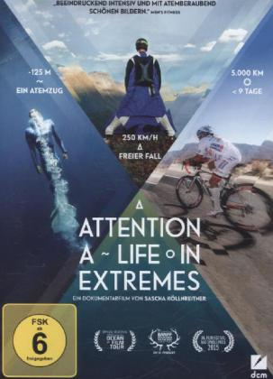 Attention: A Life in Extremes, 1 DVD | Dodax.ch