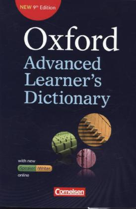 Oxford Advanced Learner's Dictionary (9th Edition) mit Online-Zugangscode | Dodax.de