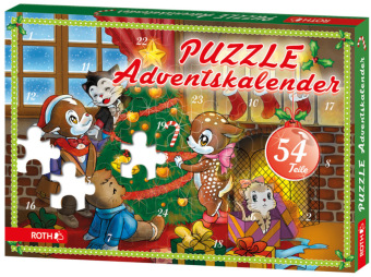 Puzzle-Adventskalender (für Minis) | Dodax.at