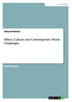 Ethics, Culture and Contemporary Moral Challenges   Dodax.pl