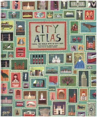 City Atlas, Discover the personality of the world's best-loved cities in this illustrated book of maps   Dodax.at