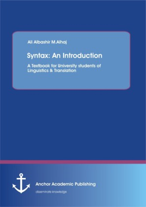 Syntax: An Introduction: A Textbook for University students of Linguistics & Translation   Dodax.ch