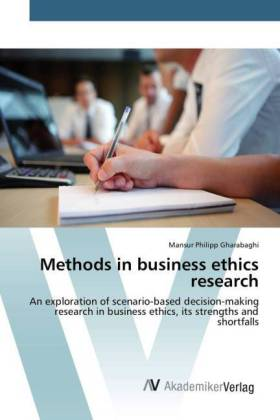 Methods in business ethics research | Dodax.at