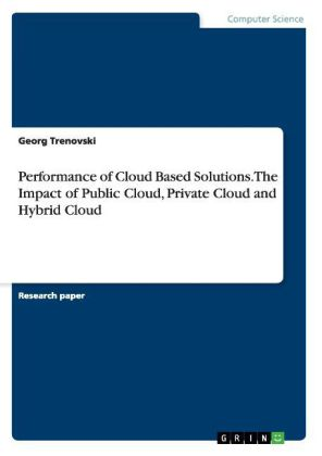 Performance of Cloud Based Solutions. The Impact of Public Cloud, Private Cloud and Hybrid Cloud | Dodax.ch