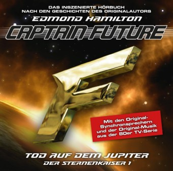 Captain Future - Der Sternenkaiser: Tod auf dem Jupiter, 1 Audio-CD | Dodax.at