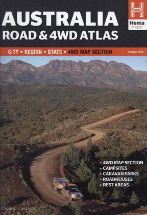 Hema Australia Road and 4WD Atlas | Dodax.ch