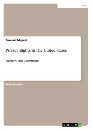Privacy Rights In The United States | Dodax.ch