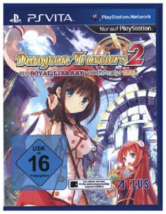 NIS America - Dungeon Travelers 2 (The Royal Library&The Monster Seal,1 PSV-Spiel) | Dodax.de