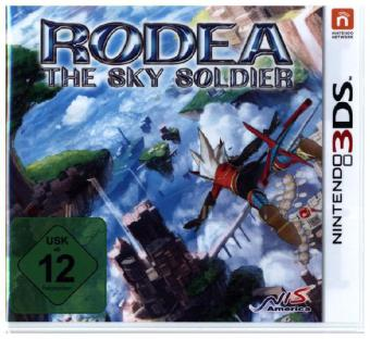 Rodea the Sky Soldier German Packaging - 3DS | Dodax.pl