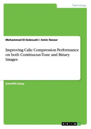 Improving Calic Compression Performance on both Continuous-Tone and Binary Images | Dodax.com