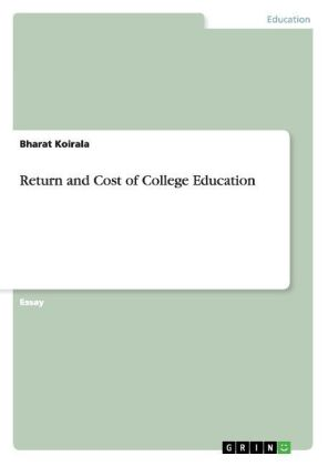 Return and Cost of College Education | Dodax.ca