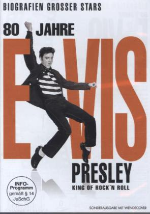 80 Jahre Elvis Presley, King of Rock'n'Roll, 1 DVD | Dodax.nl