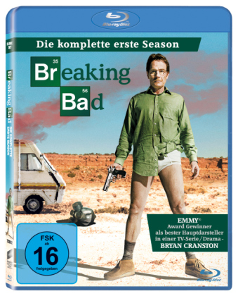 Breaking Bad. Season.1, 2 Blu-rays | Dodax.de