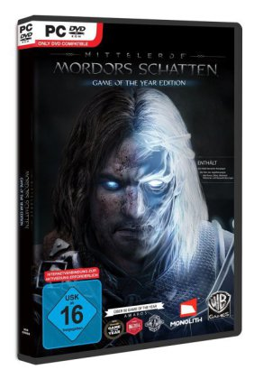 Mittelerde, Mordors Schatten, 1 DVD-ROM (Game of the Year Edition) | Dodax.at