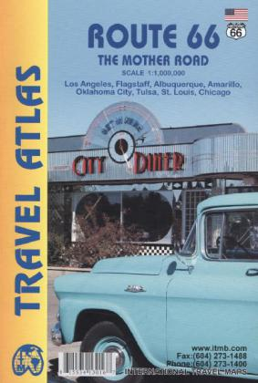 ITM Travel Atlas Route 66 | Dodax.at