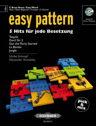 easy pattern - C Instruments, m. Audio-CD | Dodax.ch